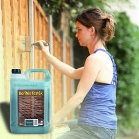 5 liter kerítés lazúr festék - ingyenes szállítással