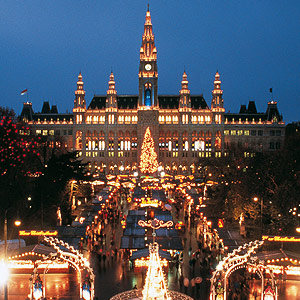 Bécs adventi fényben
